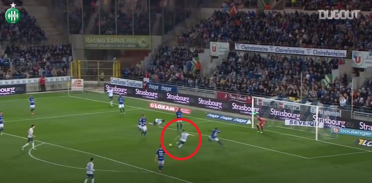 Football - Ligue 1 - Debuchy, Beric, Perrin...Les derniers buts de Saint-Etienne face à Strasbourg