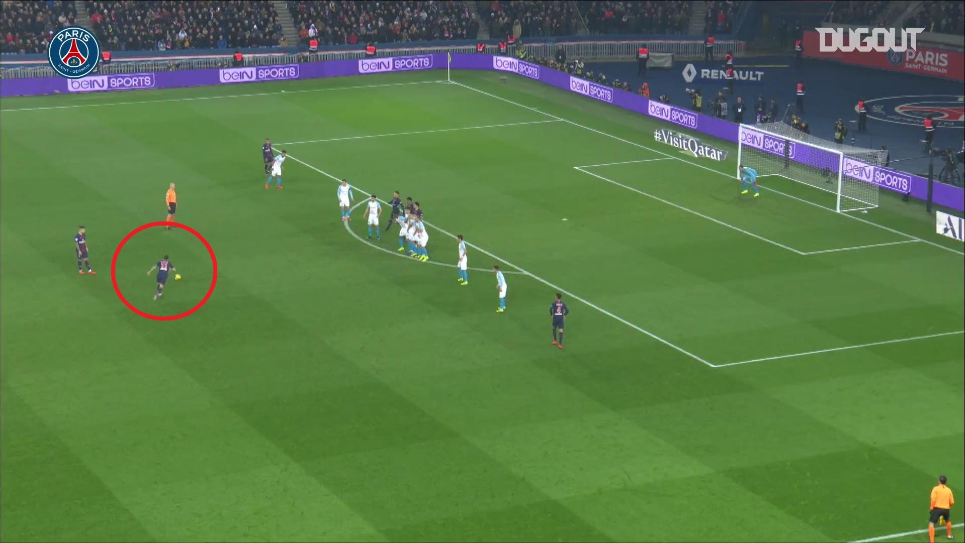 Football - Ligue 1 - Di Maria fête ses 32 ans : ses 5 plus beaux coups francs avec Paris