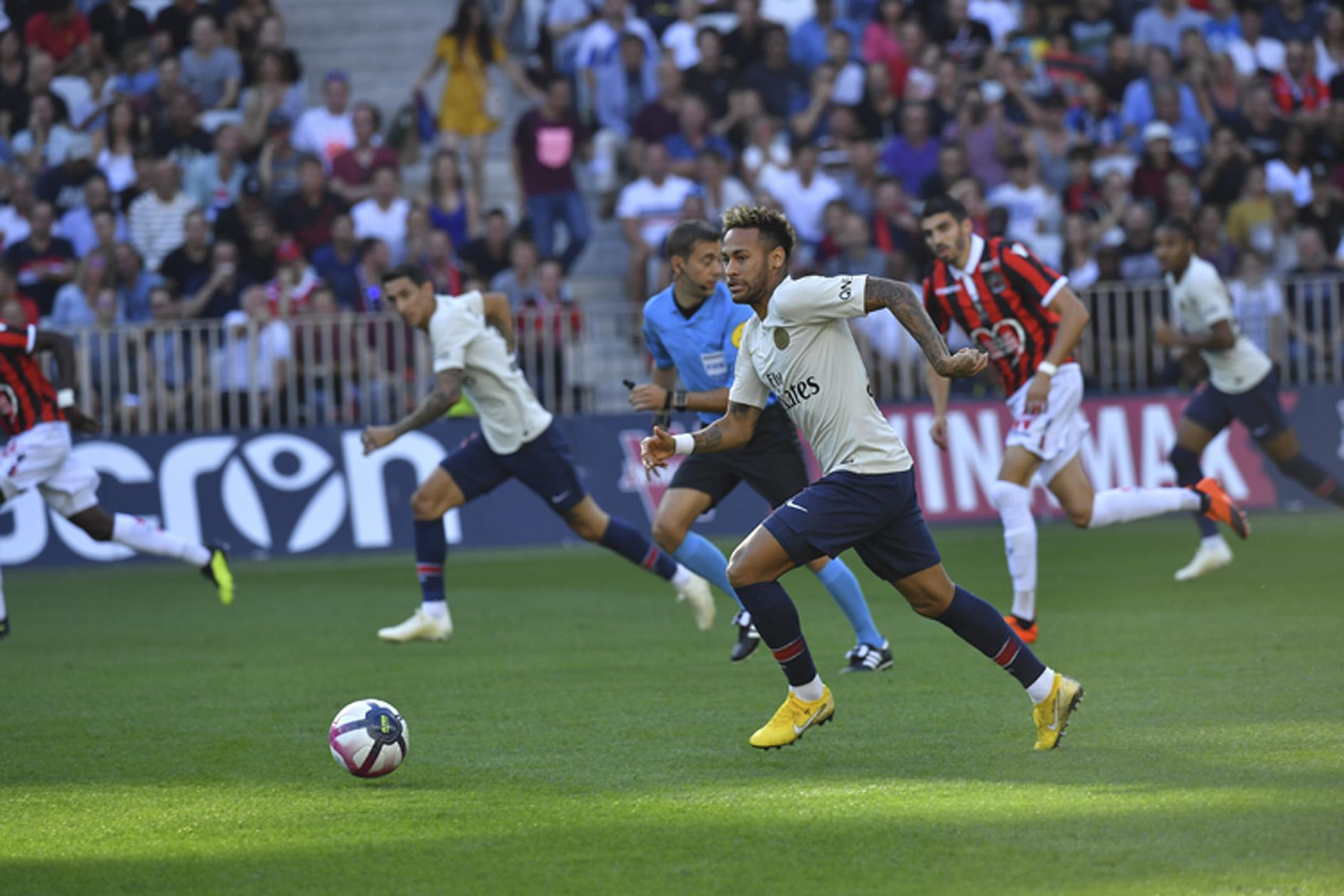 Football - Ligue 1 - Doublé de Neymar, 0-3: les buts en vidéo du PSG à Nice l'an dernier