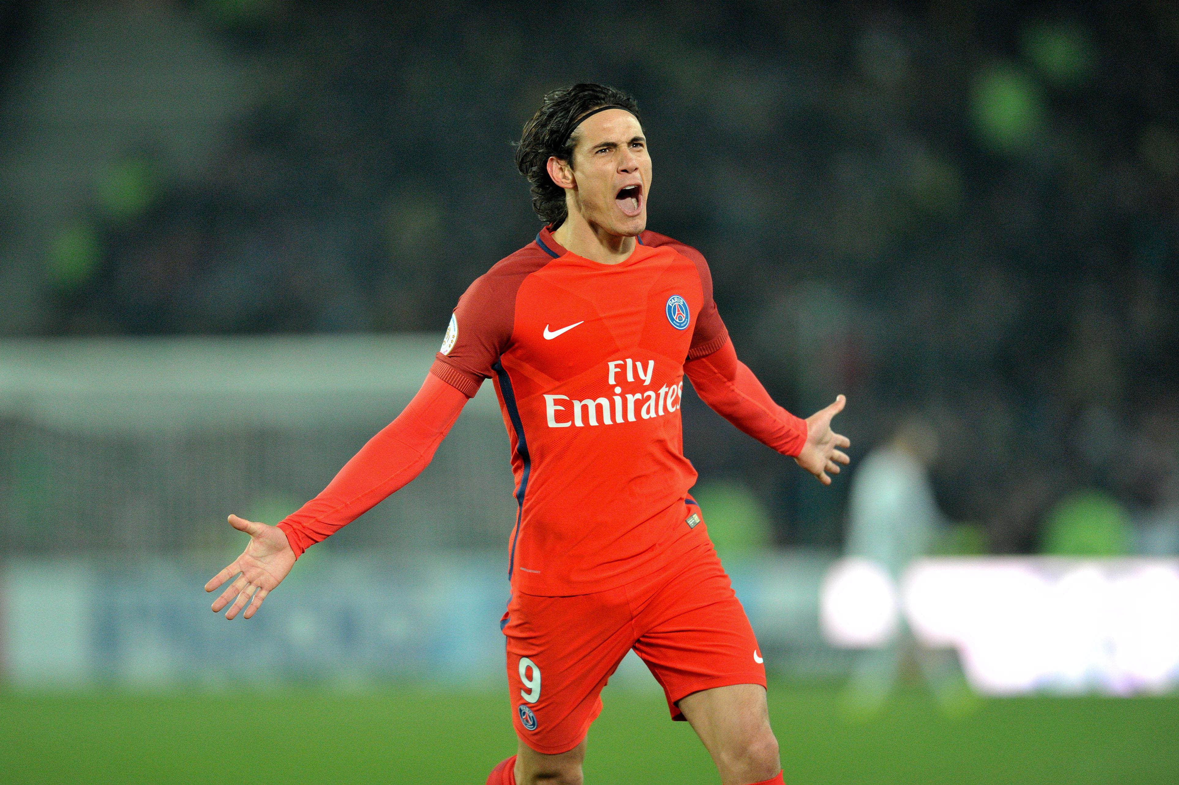 Football - Ligue 1 -  Doublé, record, éloges : Cavani est déjà guéri
