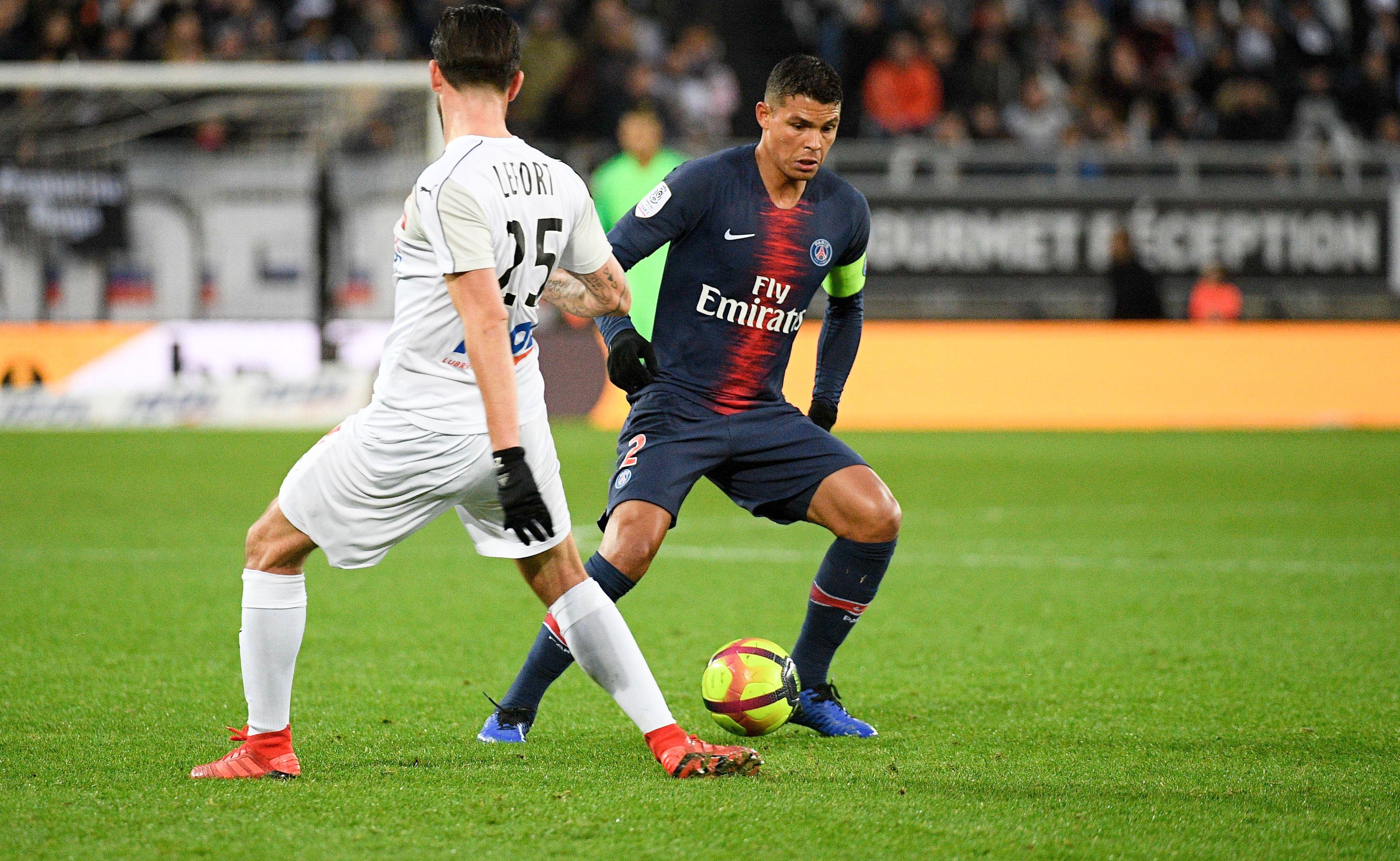 Football - Ligue 1 - Thiago Silva : «C'est normal qu'on ne soit pas encore à 100%»