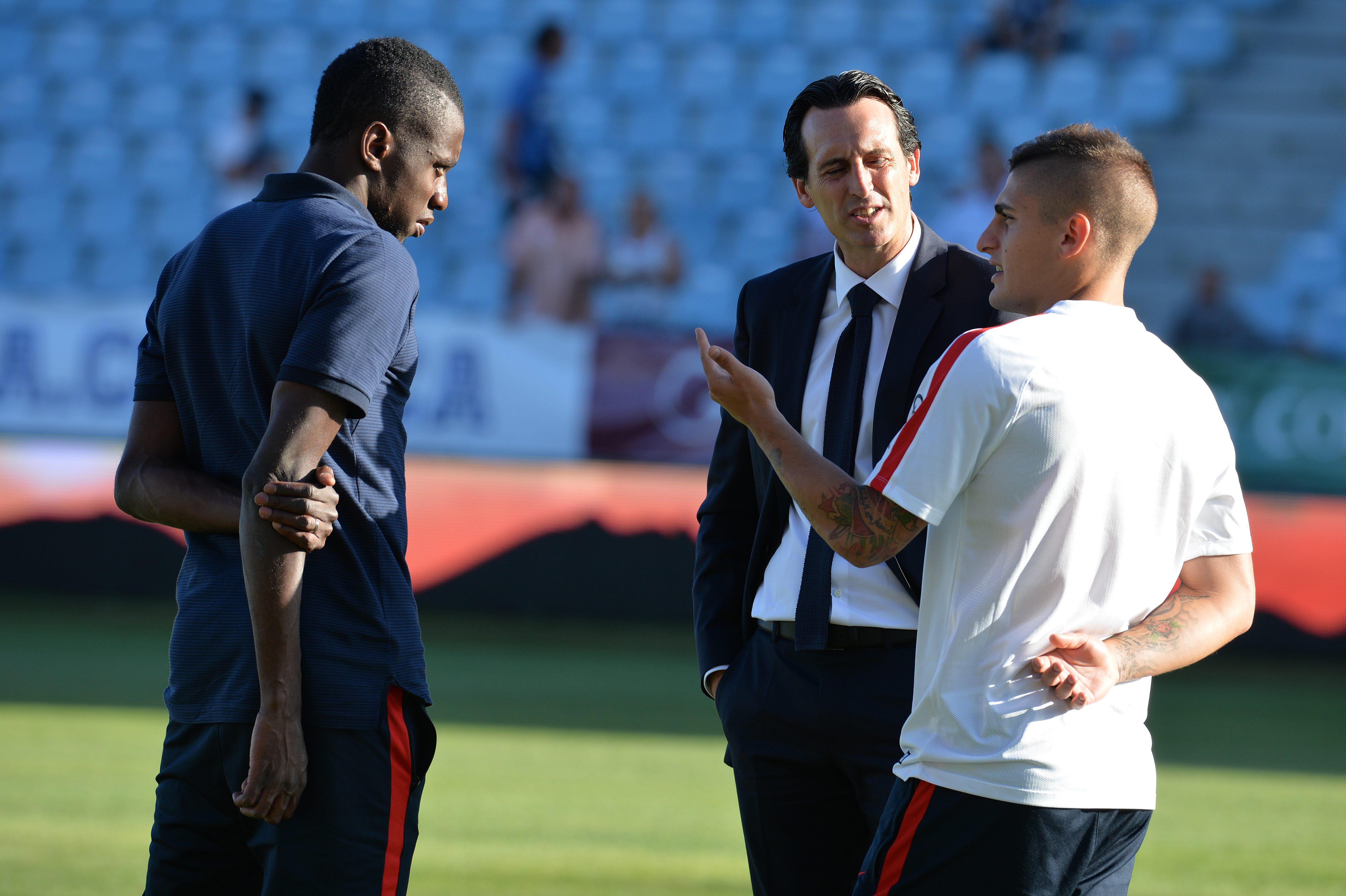 Football - Ligue 1 - Emery : «Je suis content avec Marco Verratti»