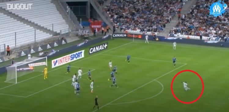 Football - Ligue 1 - En attendant le foot : la frappe pleine lucarne de Lassana Diarra pour son premier match avec l'OM