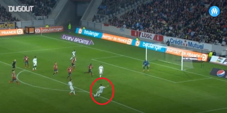 Football - Ligue 1 - En attendant le foot : la splendide frappe enroulée d'Alessandrini contre Lille