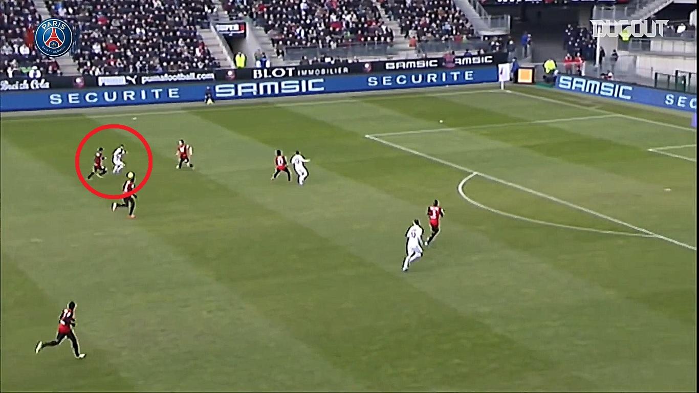 Football - Ligue 1 - En attendant le foot : le slalom de Jérémy Ménez contre Rennes en 2013
