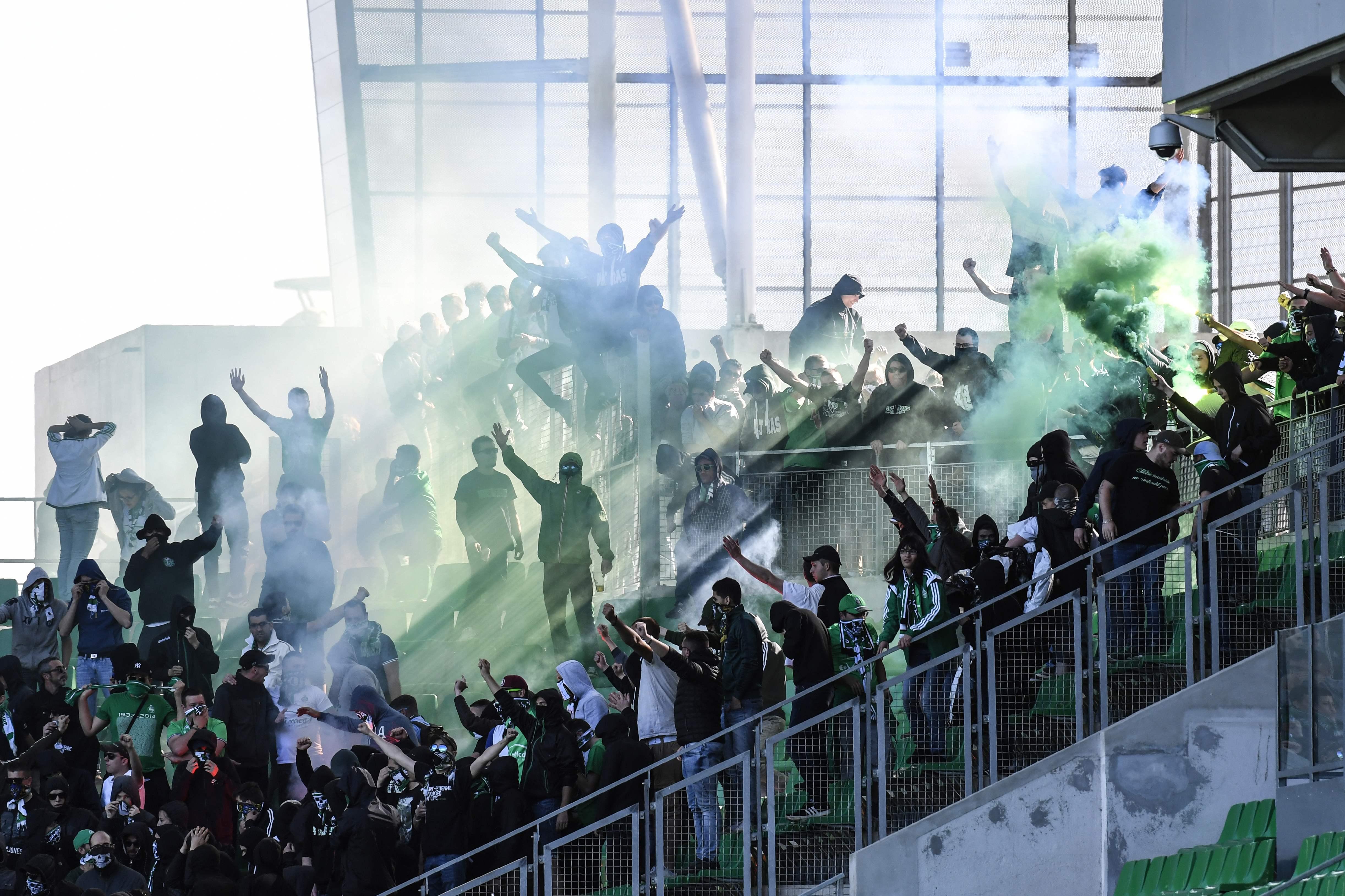 Football - Ligue 1 - Envahissement de tribunes à Saint-Etienne : les Ultras avaient les clés