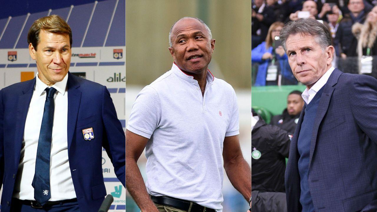 Football - Ligue 1 - Garcia, Kombouaré, Puel, coaches frais, bancs tout neufs