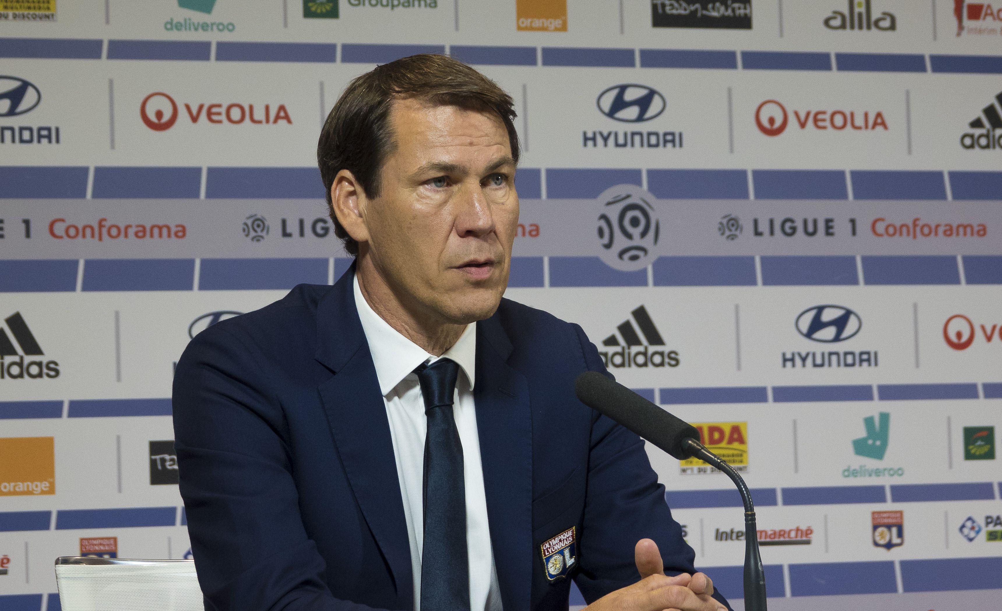 Football - Ligue 1 - Rudi Garcia présenté à Lyon : entre opération séduction et pique à l'OM