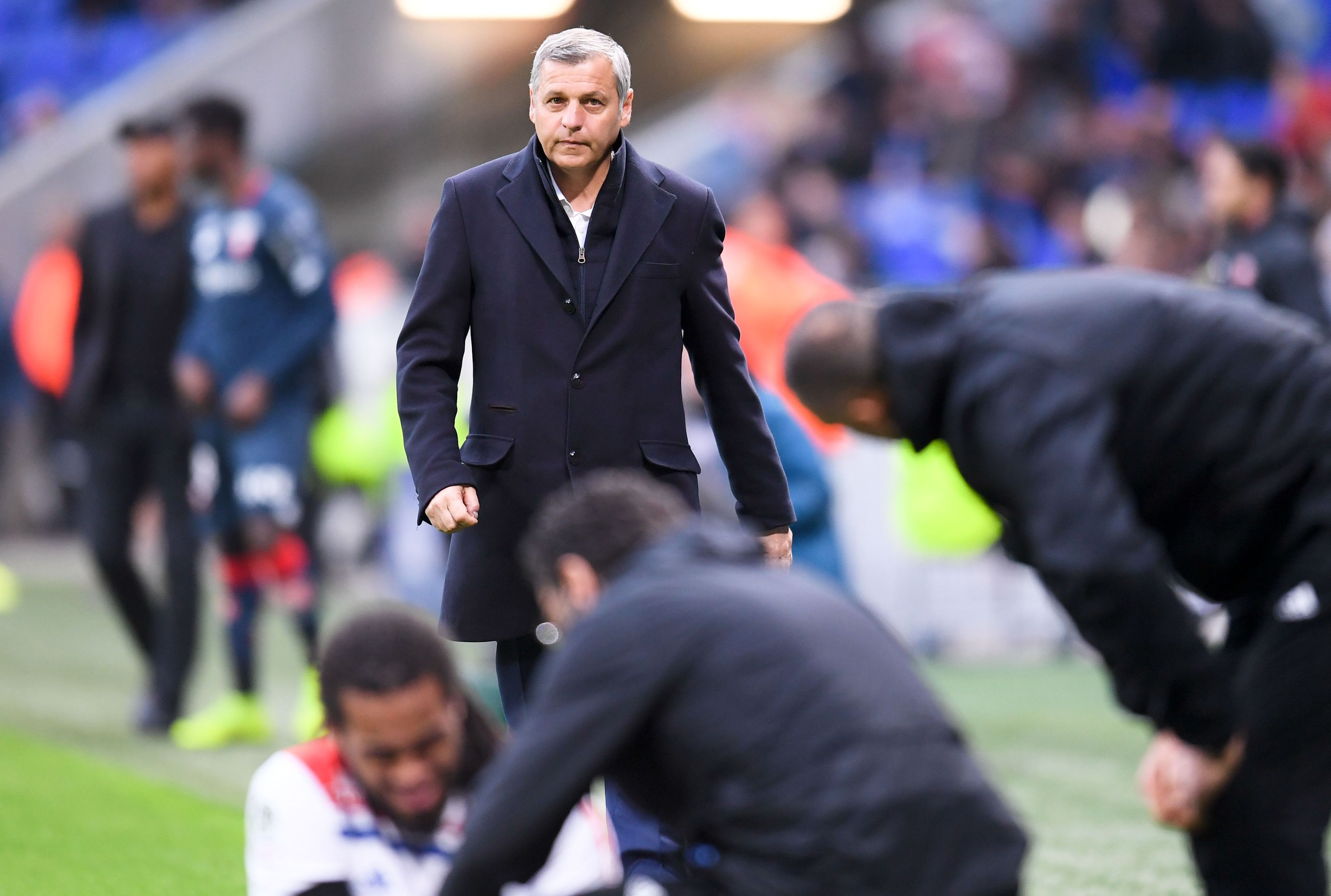 """Football - Ligue 1 - Genesio : «Je ne suis pas en train de dire """"maintenant, débrouillez-vous""""»"""