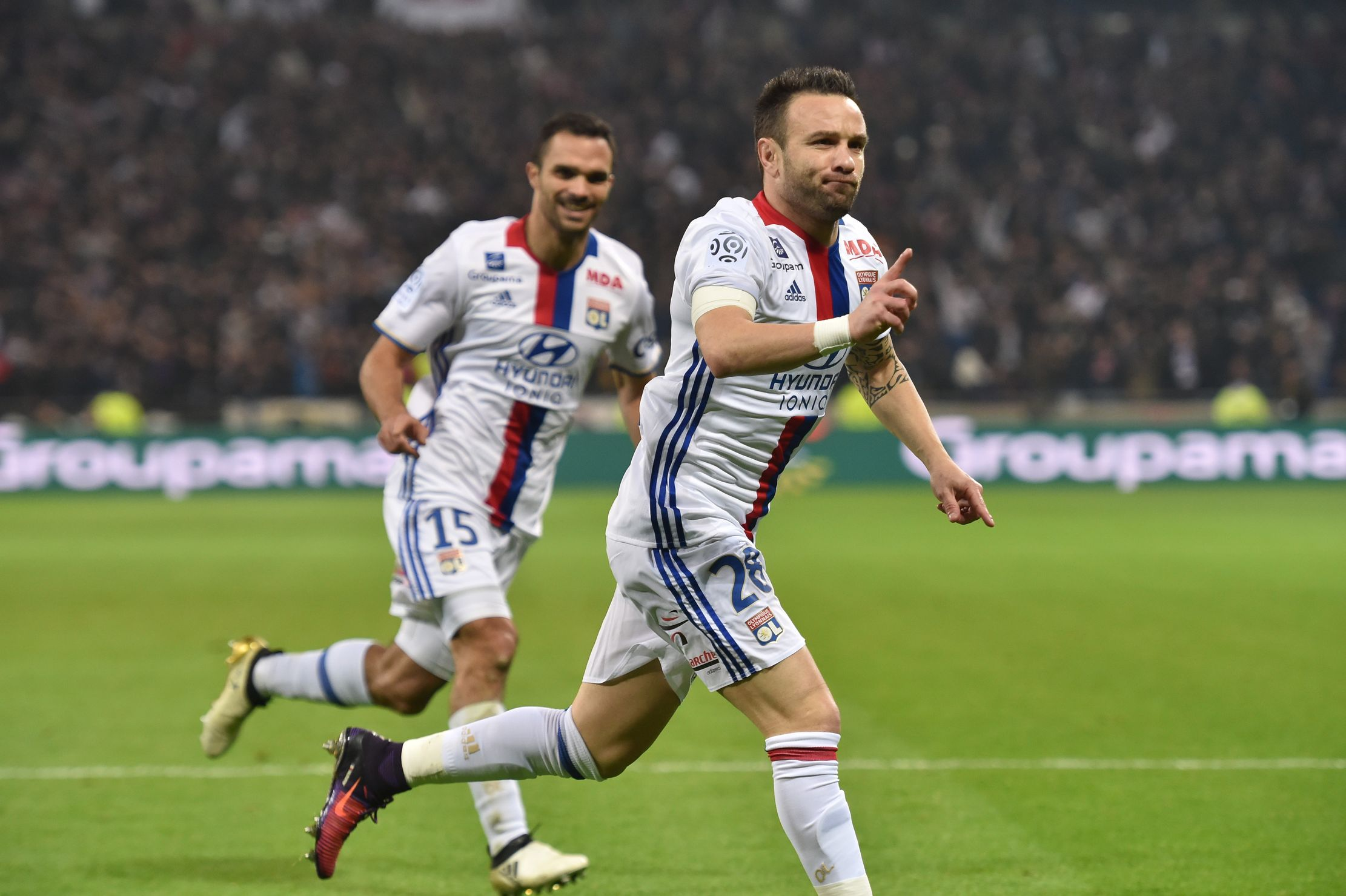 Football - Ligue 1 - Gourcuff, Valbuena, Cavani : les chiffres marquants du week-end de Ligue 1