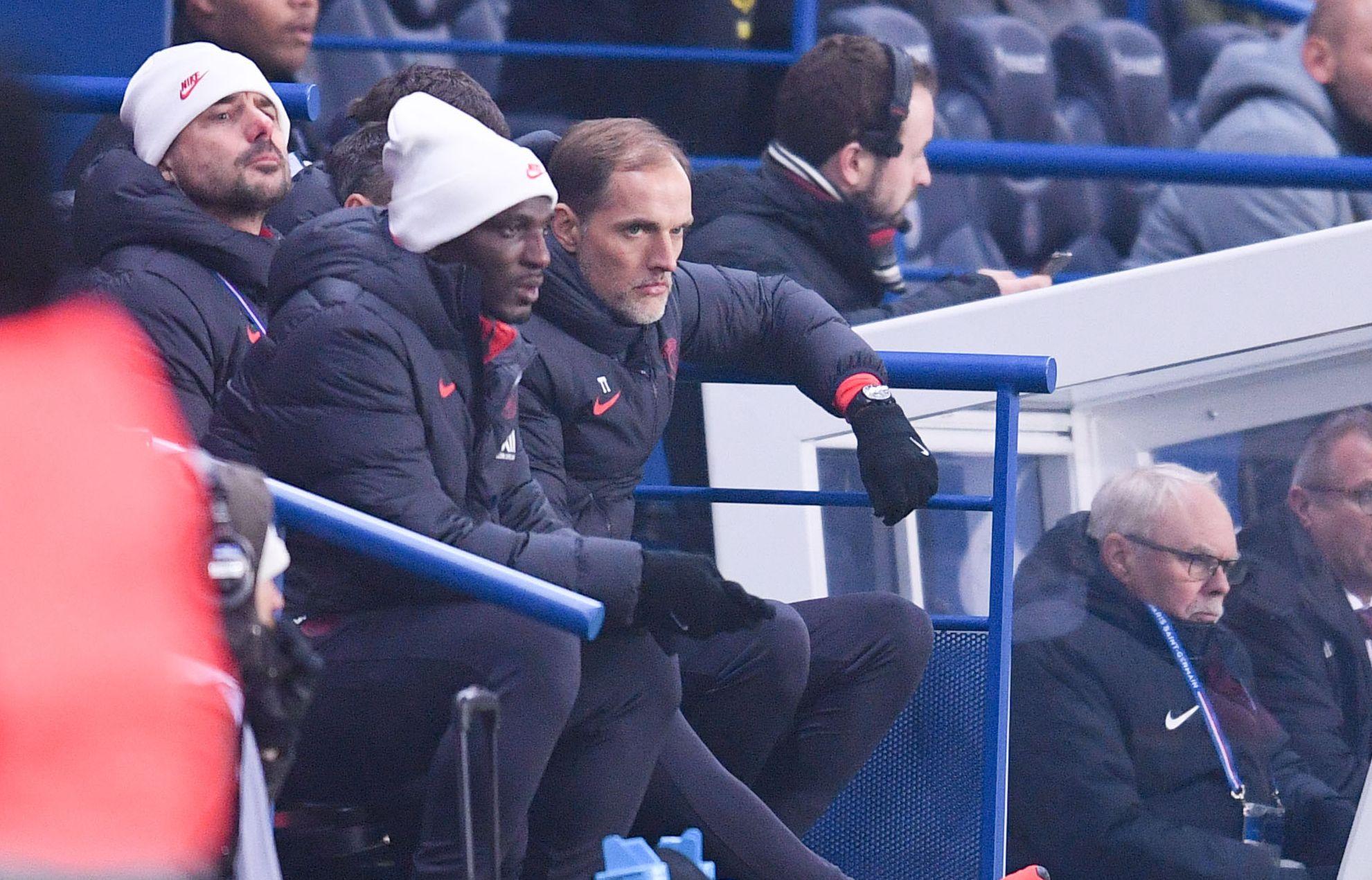Football - Ligue 1 - Tuchel : «Cavani est super professionnel mais pour le moment, je n'ai presque rien à lui donner»