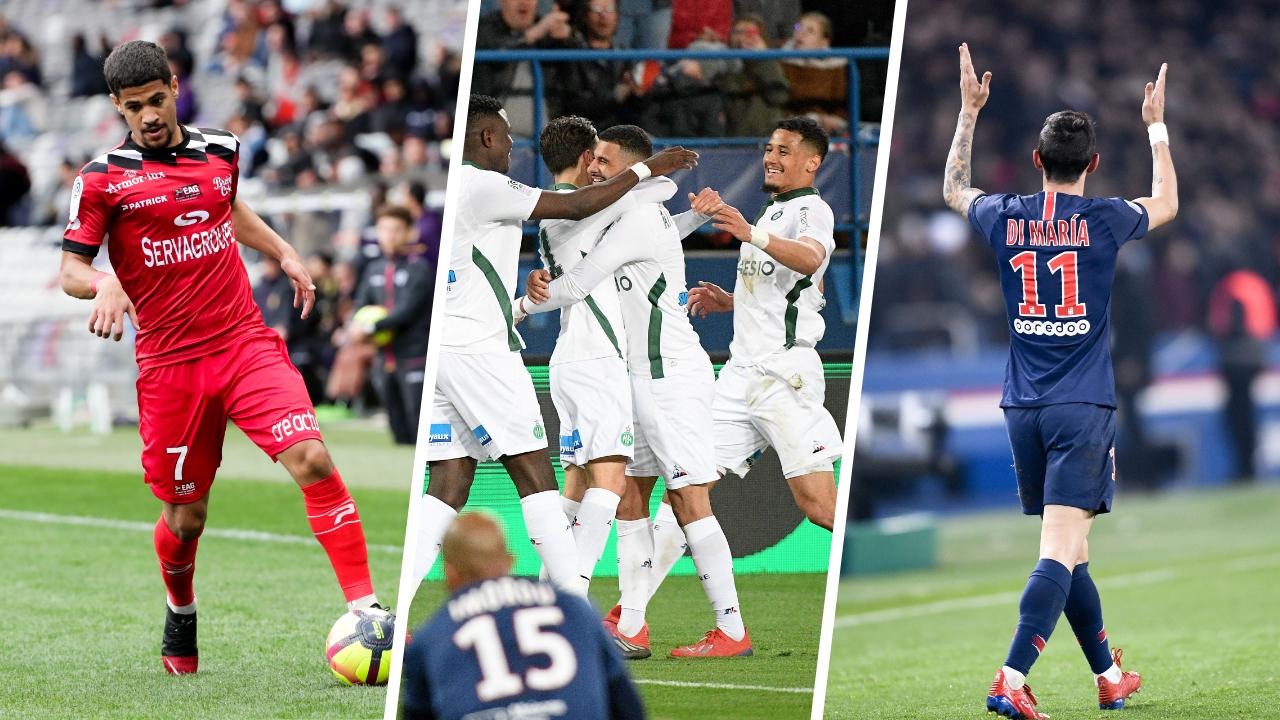Football - Ligue 1 - Guingamp, Saint-Etienne, Di Maria : le debrief stats du week-end de L1