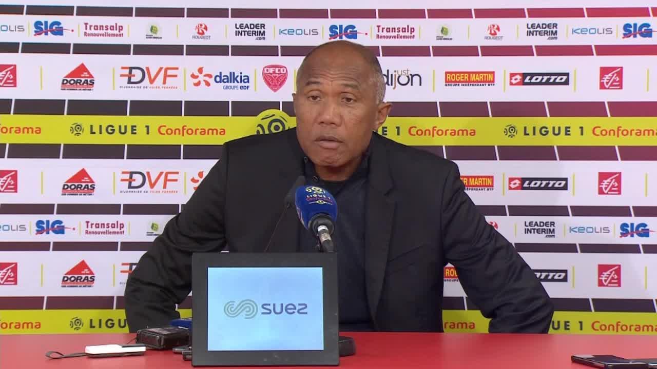 Football - Ligue 1 - Kombouaré sur les cris de singe à Dijon : «La connerie humaine, ça m'enrage !»