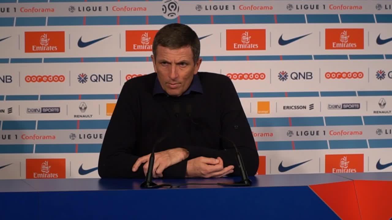 Football - Ligue 1 - Laurey après PSG-Strasbourg : «On n'a rien contre Paris»