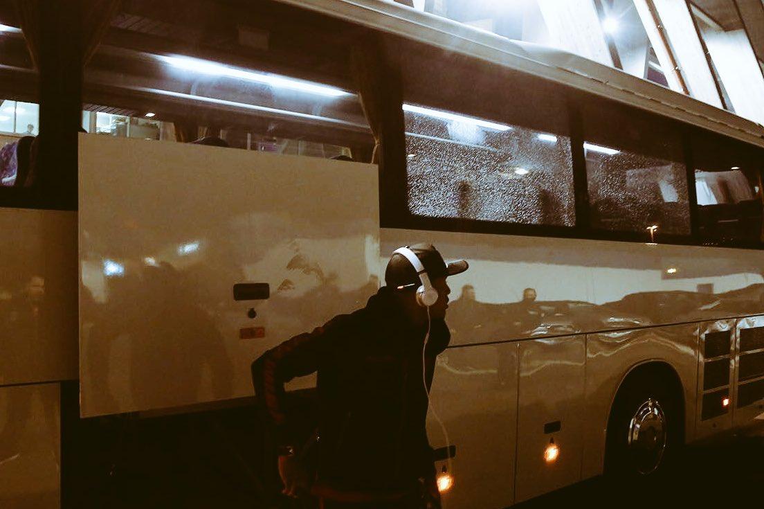 Football - Ligue 1 - Le bus niçois caillassé à Bastia avant le match