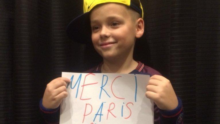 Football - Ligue 1 - Le cadeau généreux du PSG pour un enfant atteint d'un cancer