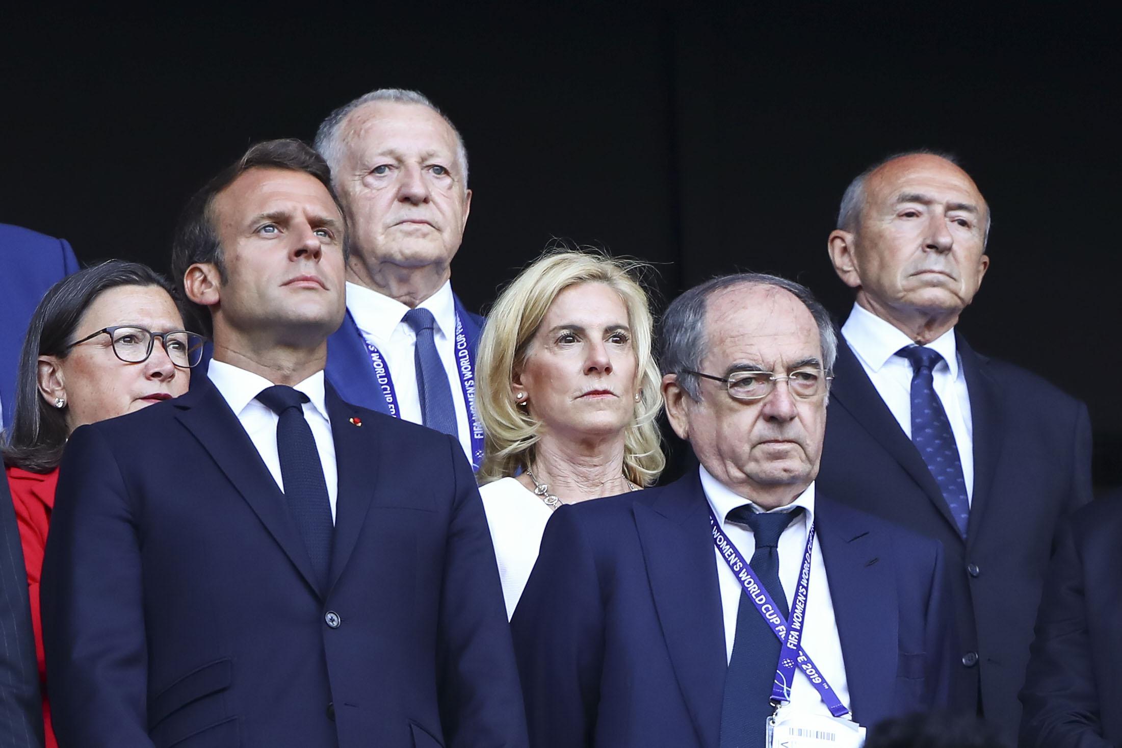 Football - Ligue 1 - Le Graët : «Macron veut que le football reprenne vite et avec des spectateurs»