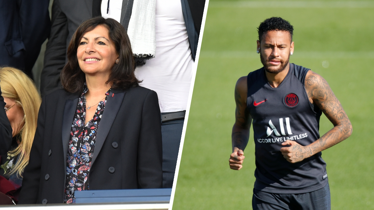 Football - Ligue 1 - Le message d'Anne Hidalgo à Neymar : «On t'aime beaucoup, mais va falloir que tu t'arraches»