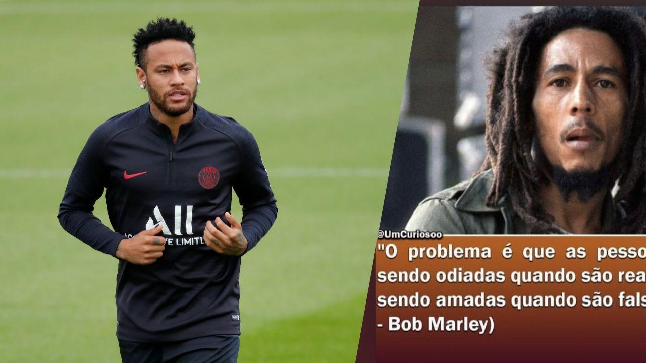 Football - Ligue 1 - Le message énigmatique de Neymar : «Les gens sont détestés quand ils sont vrais»