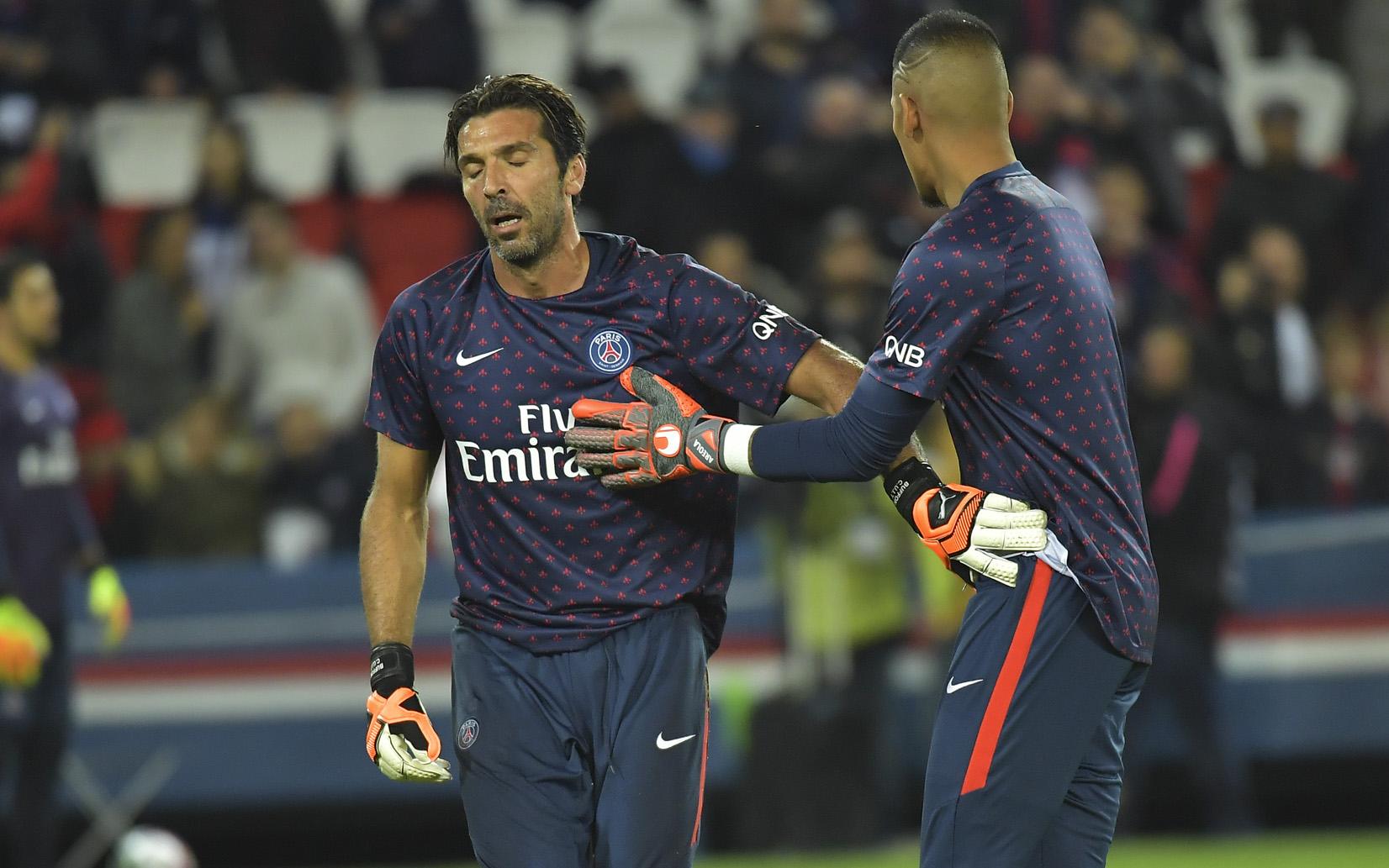 Football - Ligue 1 - Le PSG sans Thiago Silva face à l'OM, avec Areola plutôt que Buffon