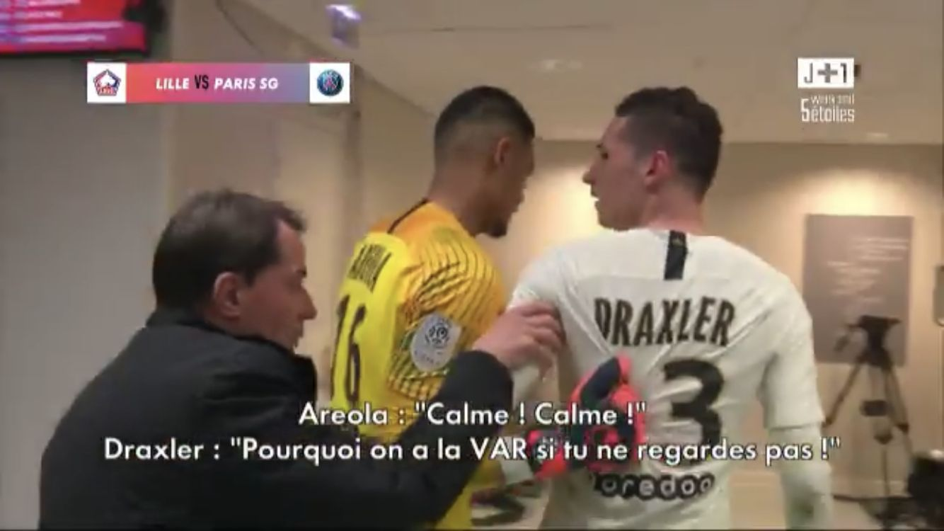 Football - Ligue 1 - Le PSG (très) remonté contre l'arbitre : «Il nous prend tout»