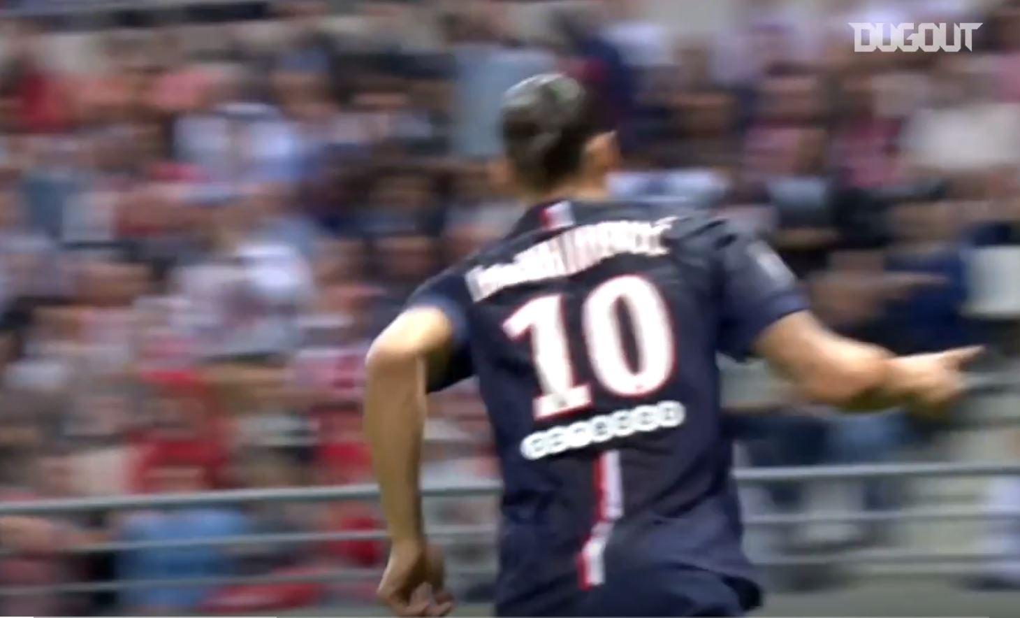 Football - Ligue 1 - Les buts du PSG en ouverture du championnat depuis cinq ans