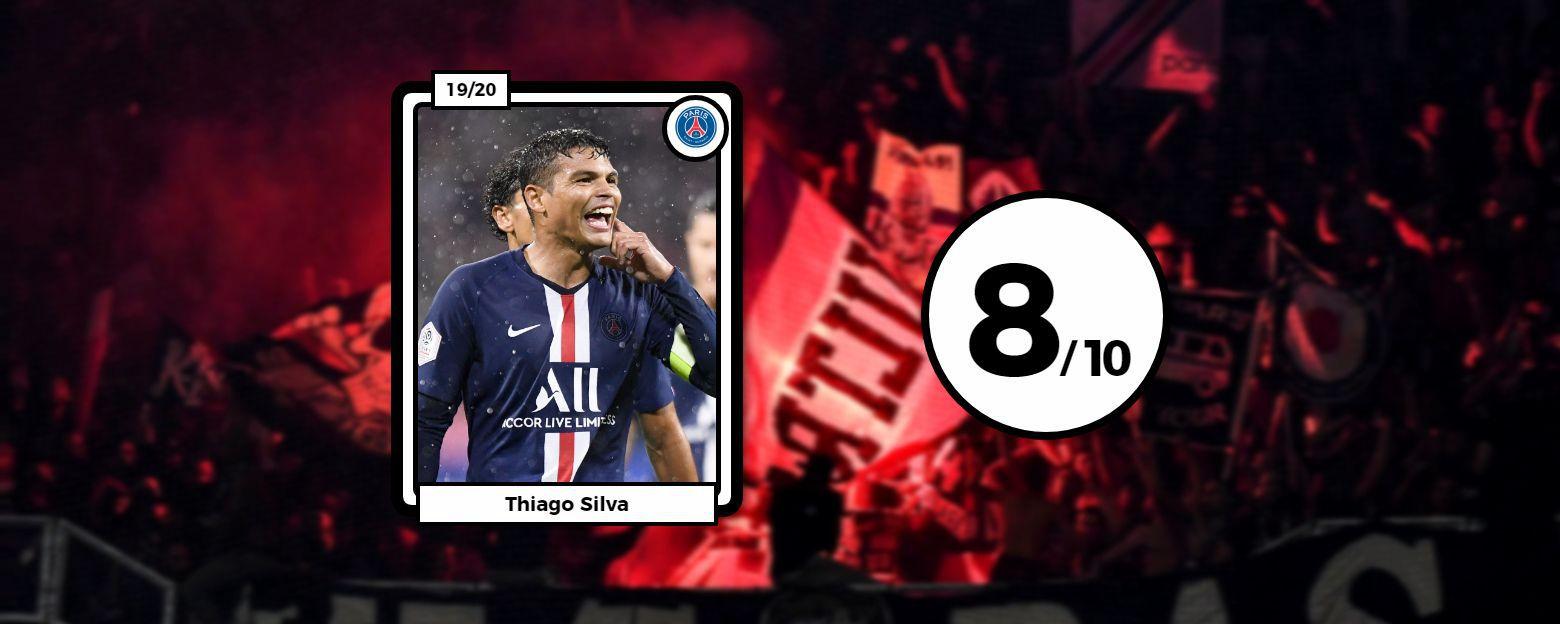 Football - Ligue 1 - Les notes après OL-PSG : Aouar fantomatique, Thiago Silva en patron et Neymar maître du temps