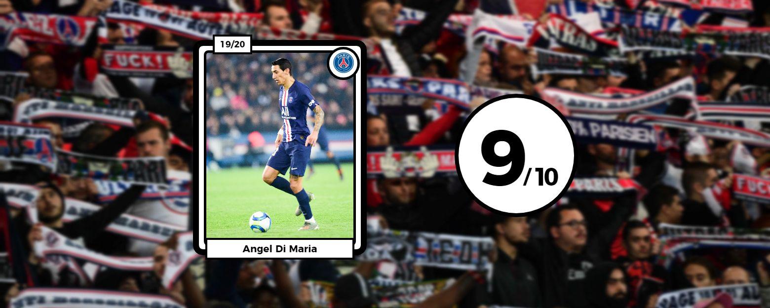 Football - Ligue 1 - Les notes de PSG-OM : Di Maria dans tous les (bons) coups, l'OM dépassé