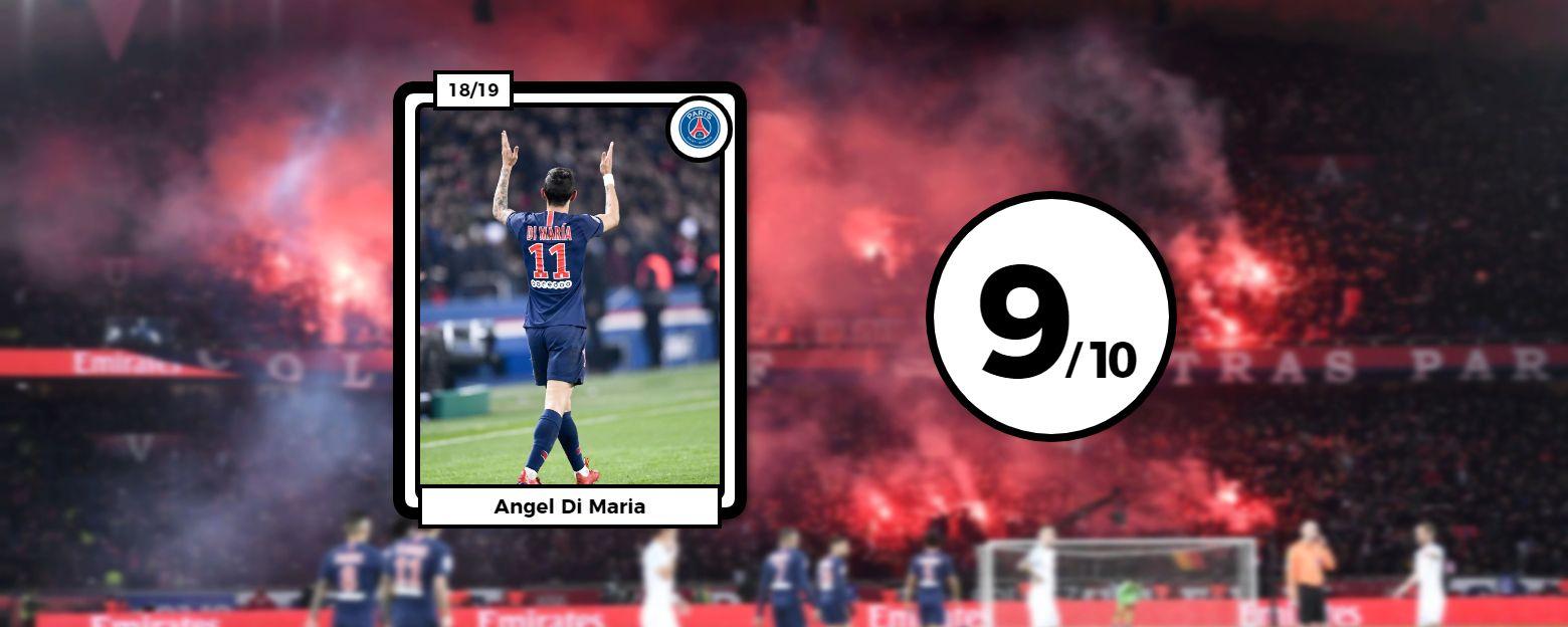 Football - Ligue 1 - Les notes de PSG-OM : Di Maria dans un (très) grand soir, Mandanda plombe l'OM
