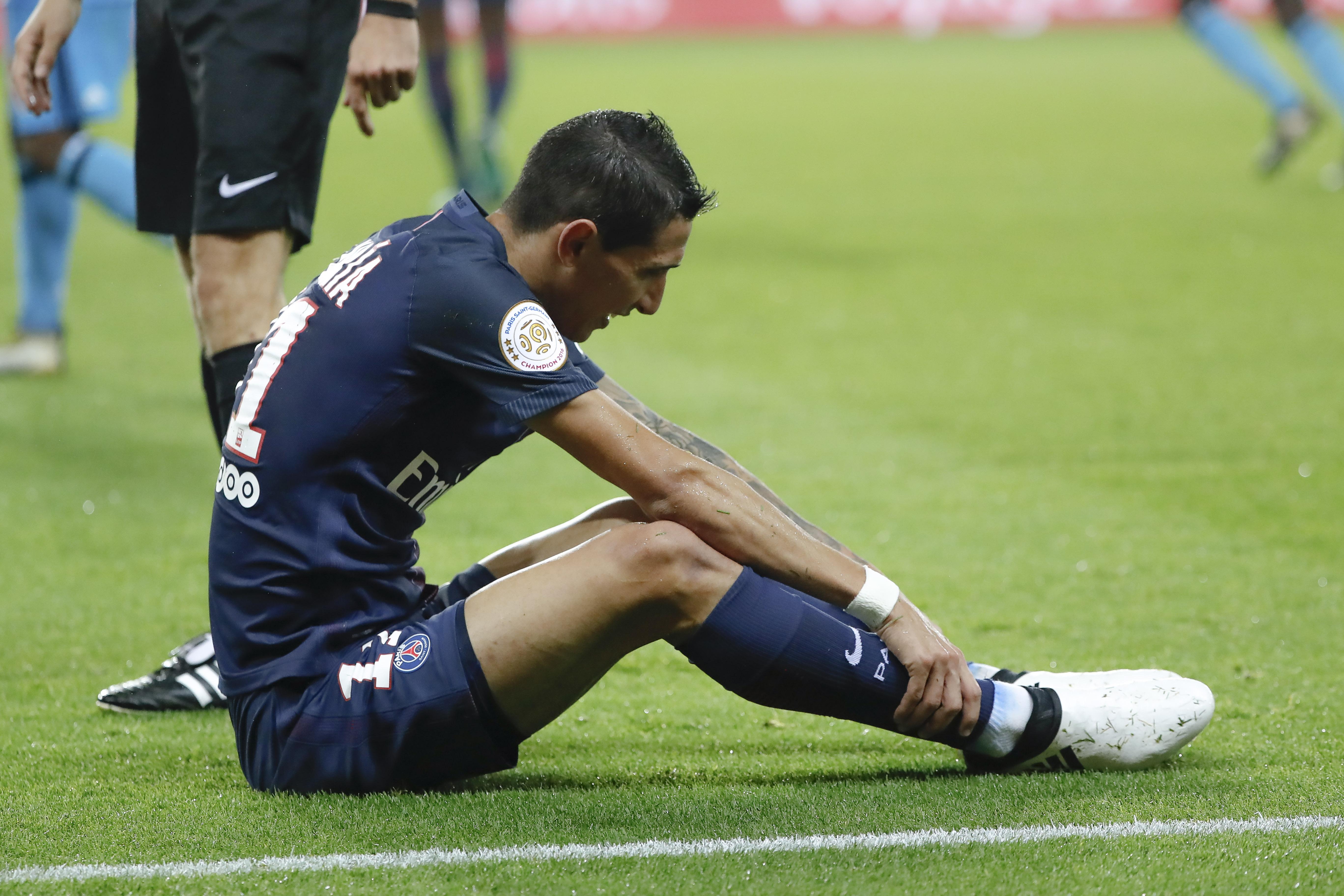 Football - Ligue 1 - Les notes du PSG : Di Maria transparent, Thiago Silva omniprésent