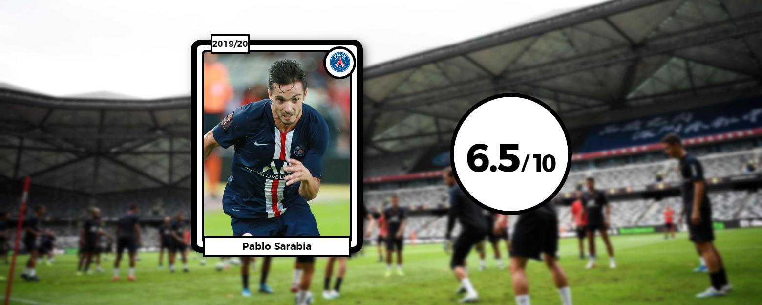 Football - Ligue 1 - Les notes du Trophée des Champions : Sarabia et Camavinga, ça promet