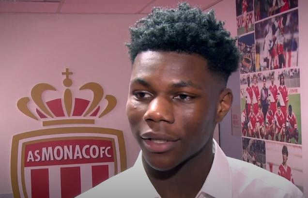 Football - Ligue 1 - Les premiers mots de Tchouaméni avec l'AS Monaco