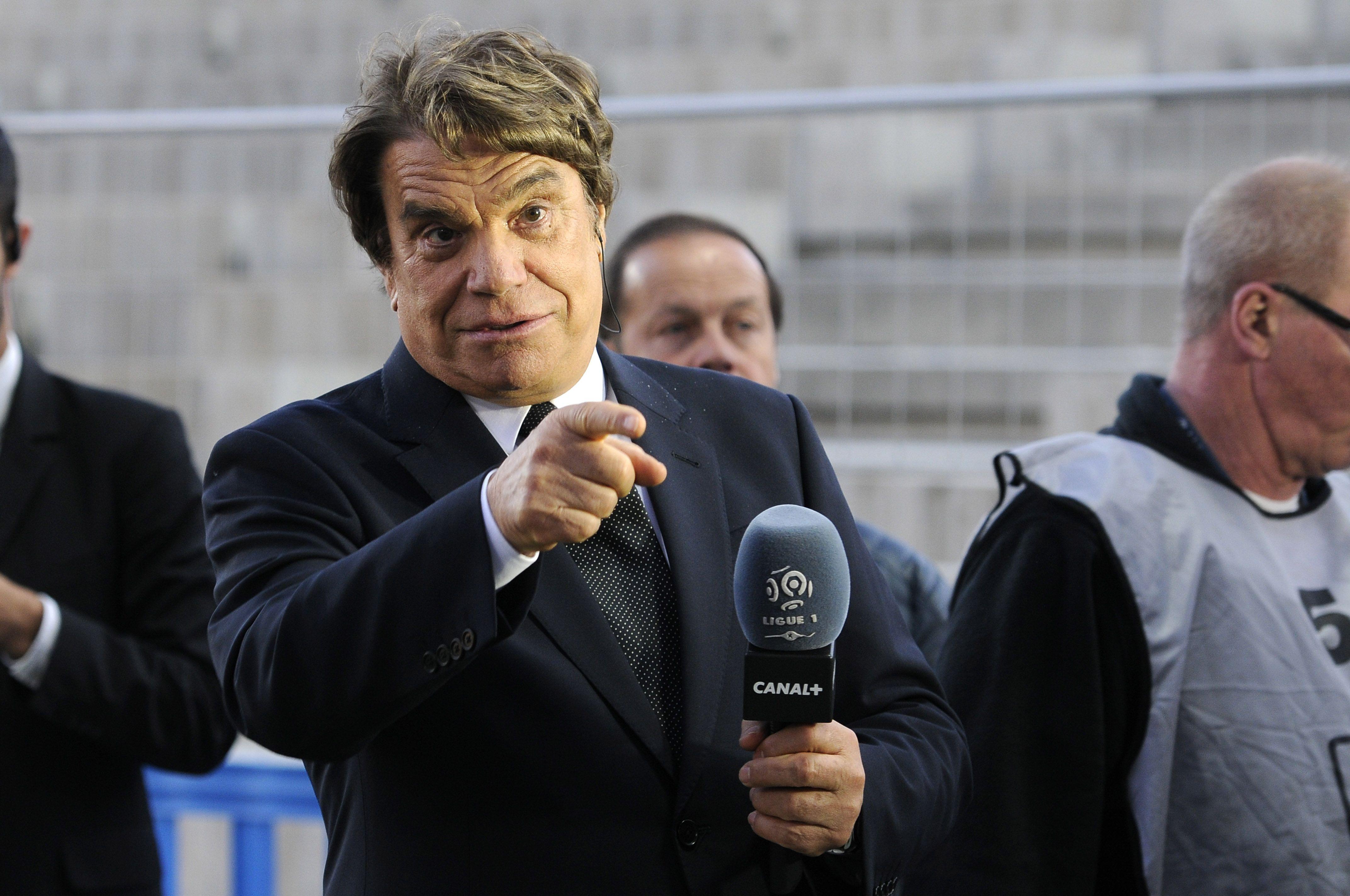 Football - Ligue 1 - Les supporters de l'OM au soutien de Bernard Tapie, gravement malade