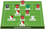 Ligue 1 : l'équipe type du week-end