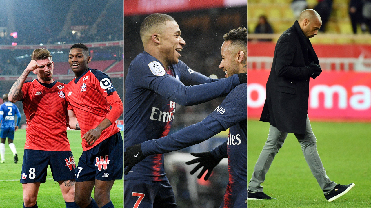Football - Ligue 1 - Lille, PSG, Monaco : le debrief stats du week-end de L1