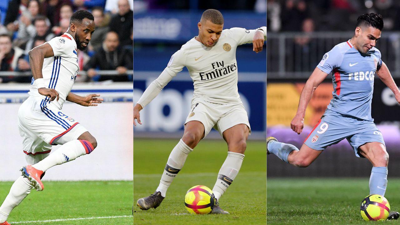 Football - Ligue 1 - Lyon, Mbappé, Falcao : le debrief stats du week-end de L1