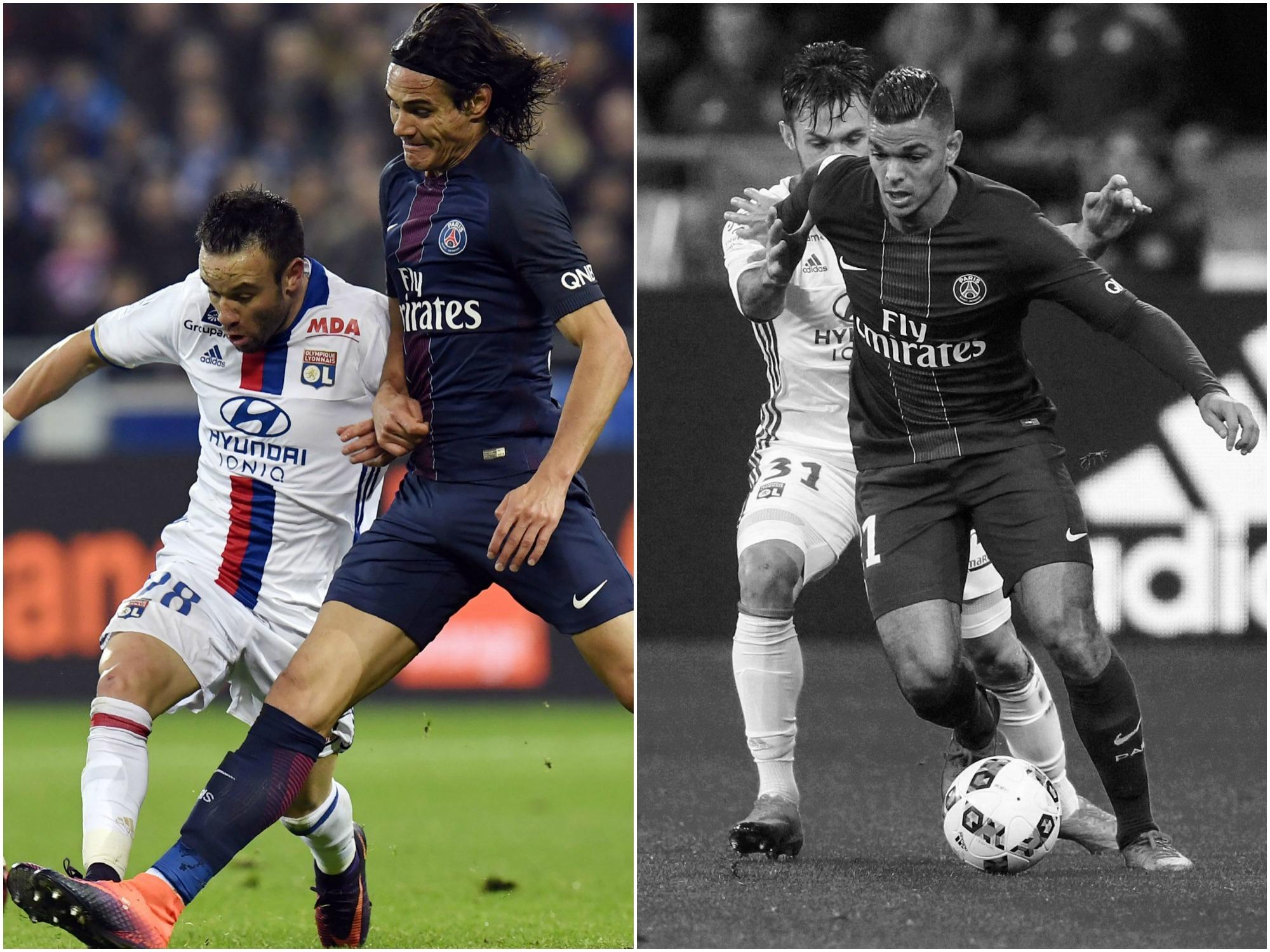 Football - Ligue 1 - Lyon-PSG : Cavani et Valbuena décisifs, Ben Arfa peut mieux faire