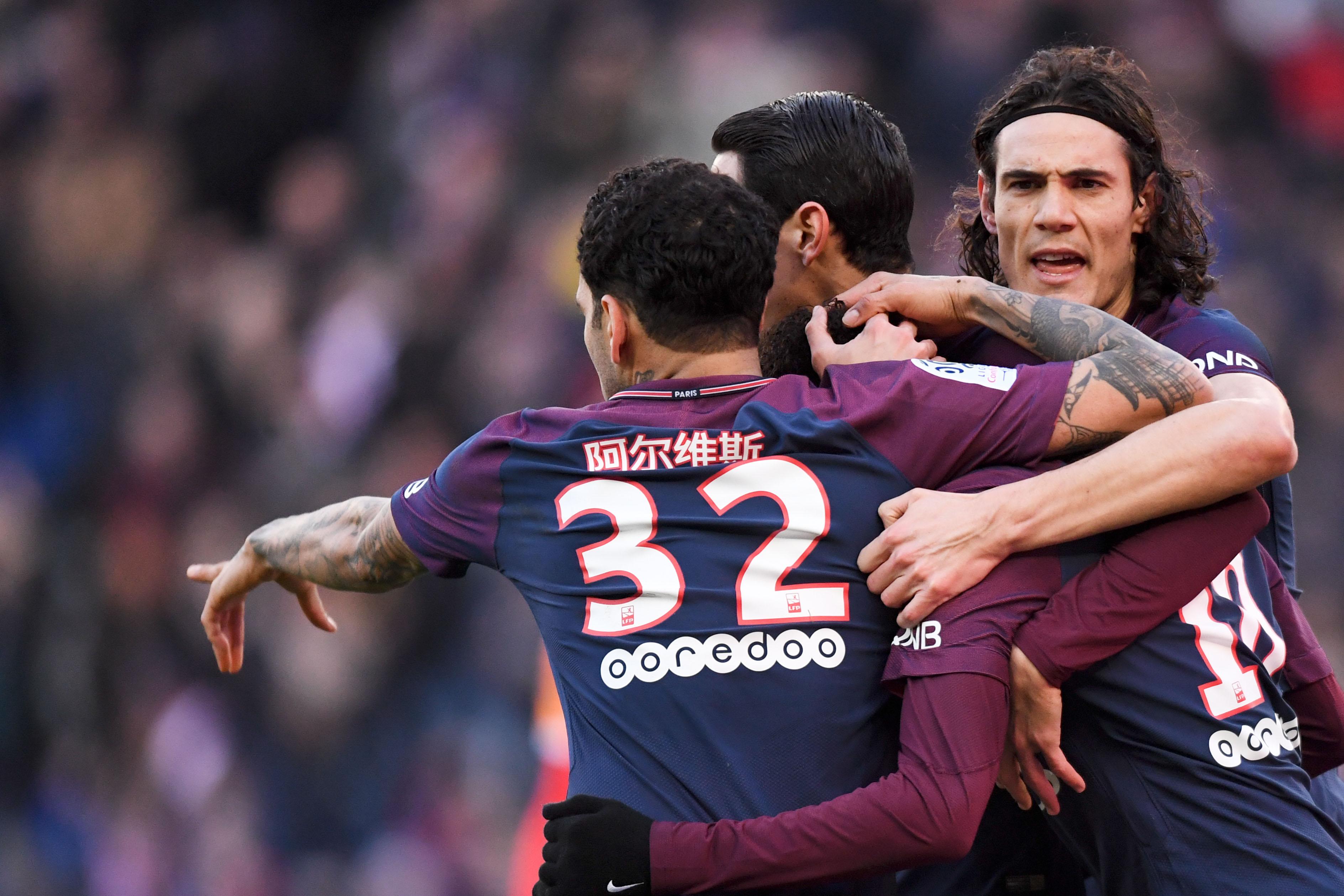 Football - Ligue 1 - Lyon, PSG, Cavani : les chiffres marquants du week-end de L1