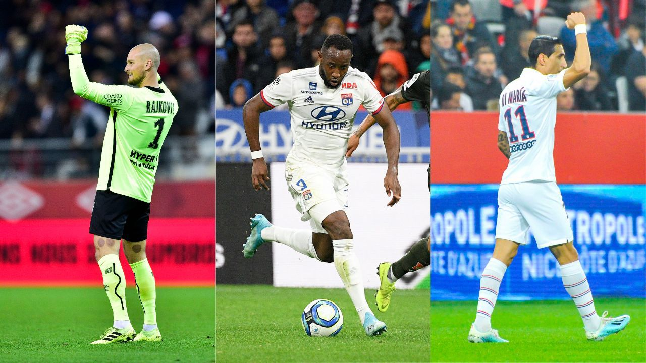 Football - Ligue 1 - Lyon, Reims, Di Maria : Le debrief stats du week-end de L1