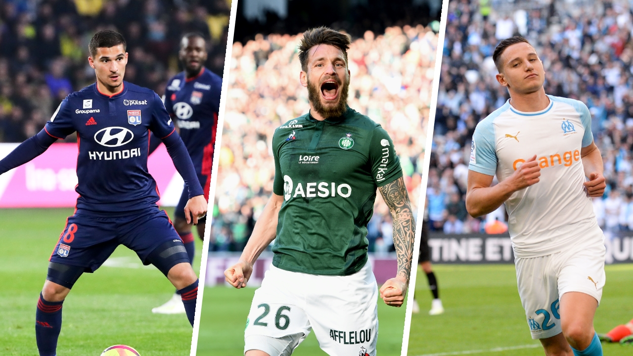 Football - Ligue 1 - Lyon, Saint-Etienne, Marseille : qui finira troisième de Ligue 1 ?