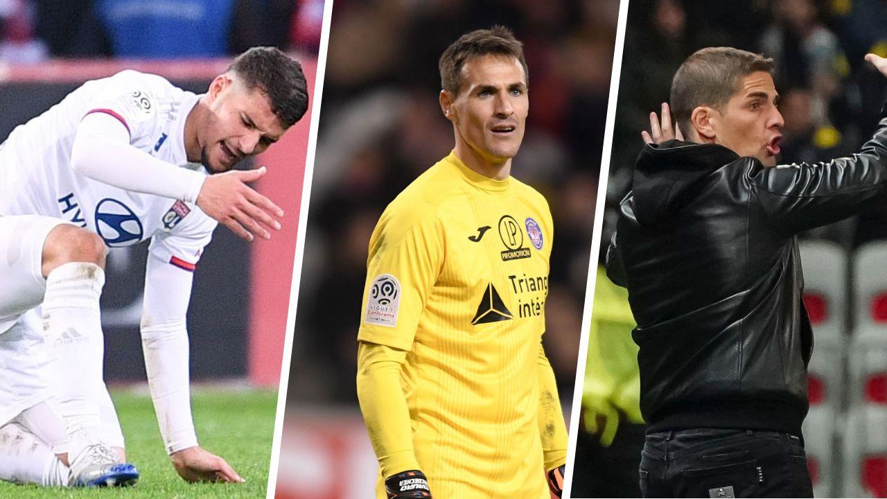 Football - Ligue 1 - Lyon, Toulouse, Moreno : les stats à connaître avant la 29e journée de L1