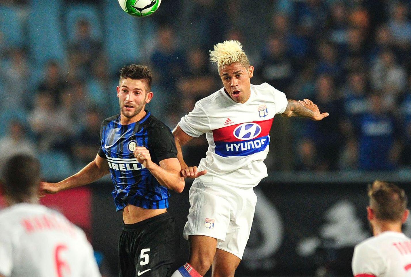 Football - Ligue 1 - Lyon trébuche contre l'Inter pour la première de Diaz