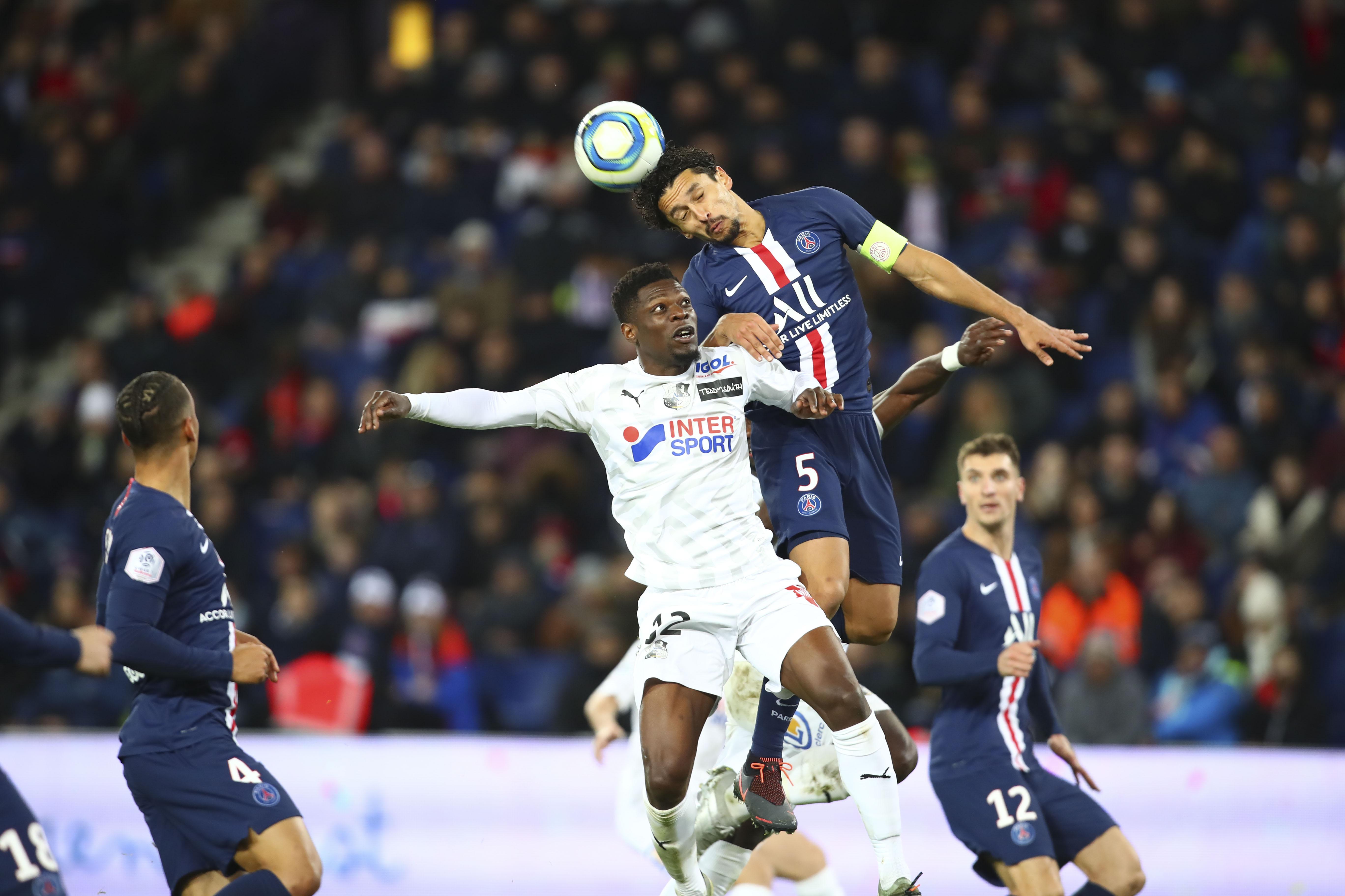 Football - Ligue 1 - Marquinhos : «On est monté en puissance, j'espère qu'on va continuer comme ça»
