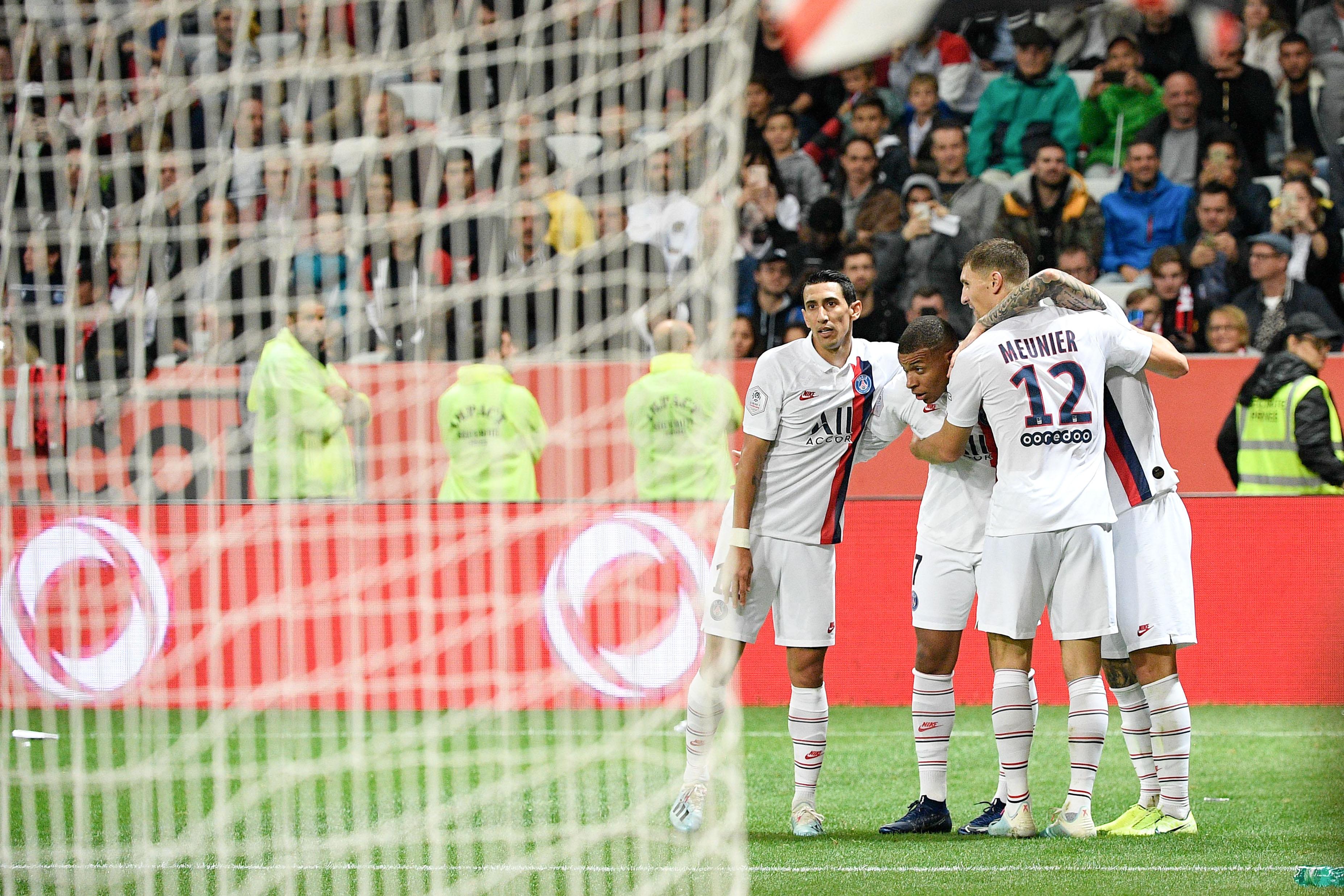 Football - Ligue 1 - Meunier admiratif de Di Maria : «Depuis janvier, Angel est incroyable»