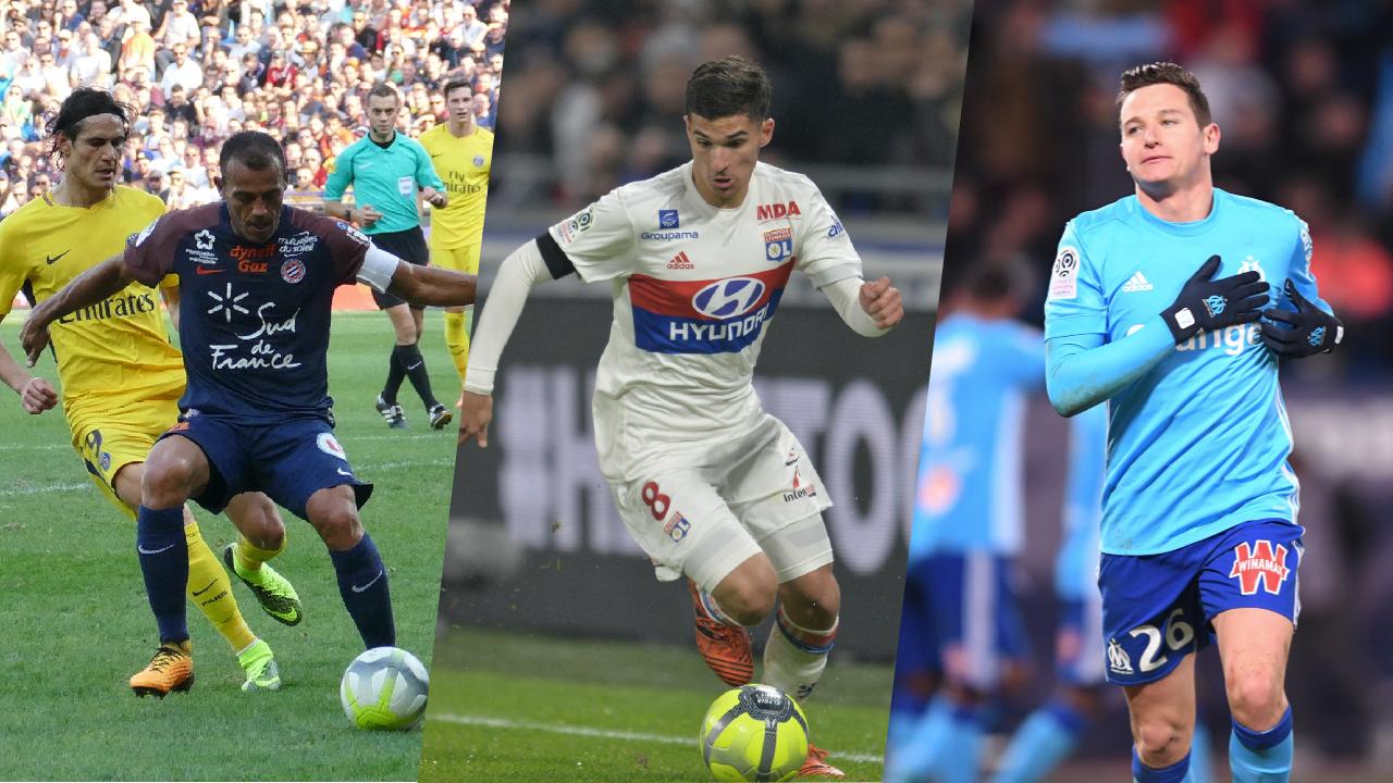 Football - Ligue 1 - Montpellier, Lyon, Marseille : les stats à connaître avant la 23e journée de L1