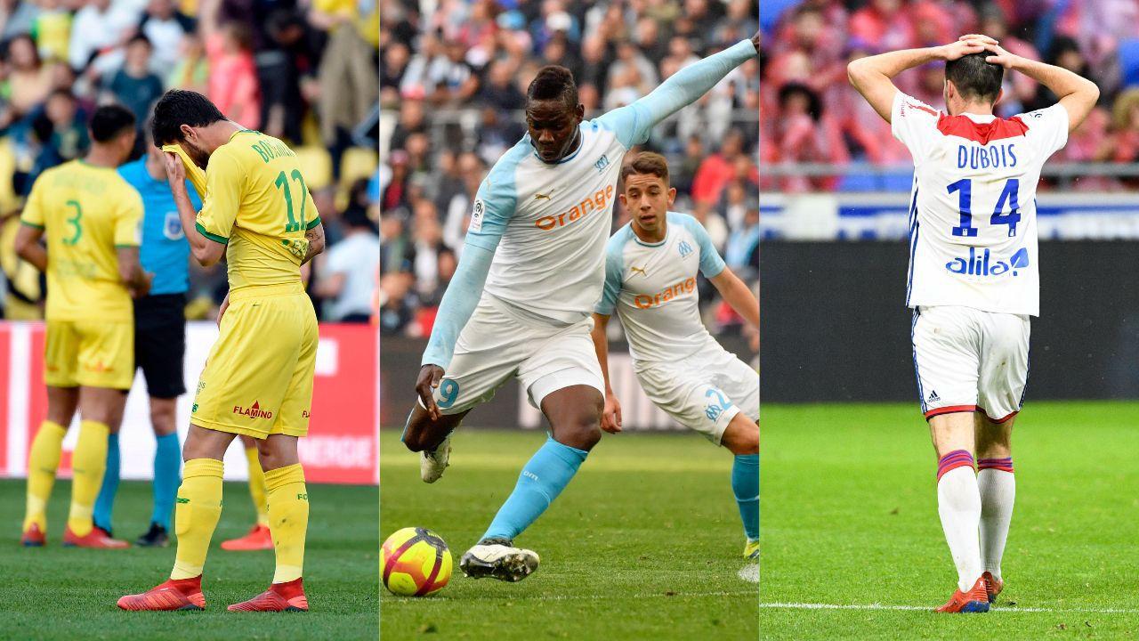 Football - Ligue 1 - Nantes, Balotelli, Dubois : le debrief stats du week-end de L1