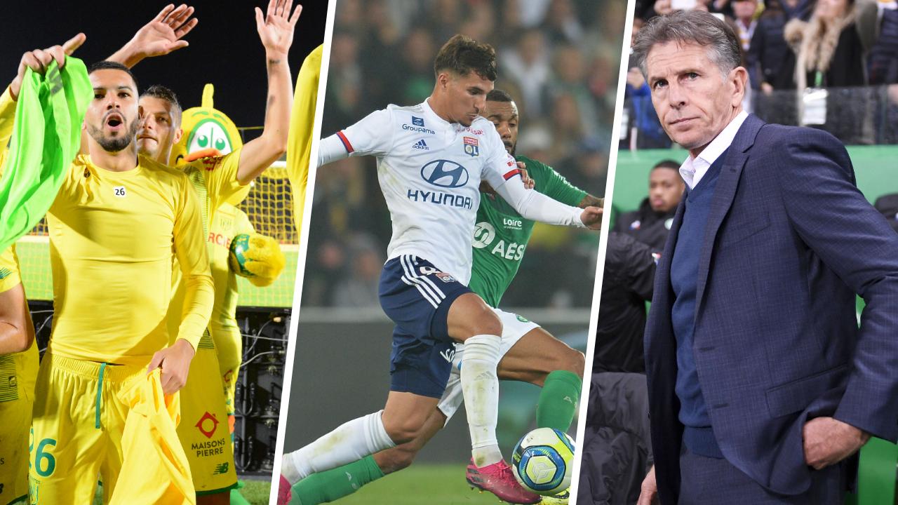 Football - Ligue 1 - Nantes, Lyon, Puel : les stats à connaître avant la 11ème journée de L1
