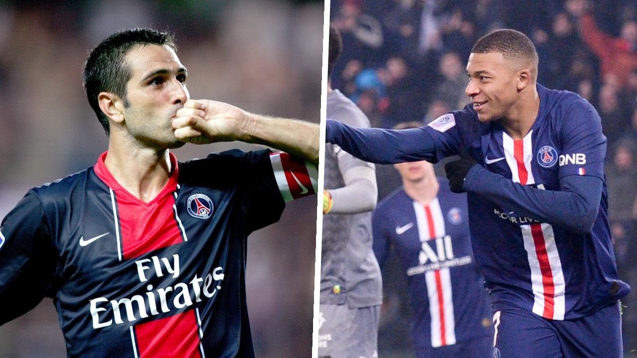 Football - Ligue 1 - Nantes-PSG : Pauleta, Djorkaeff, Mbappé... les plus beaux buts de Paris face aux Canaris