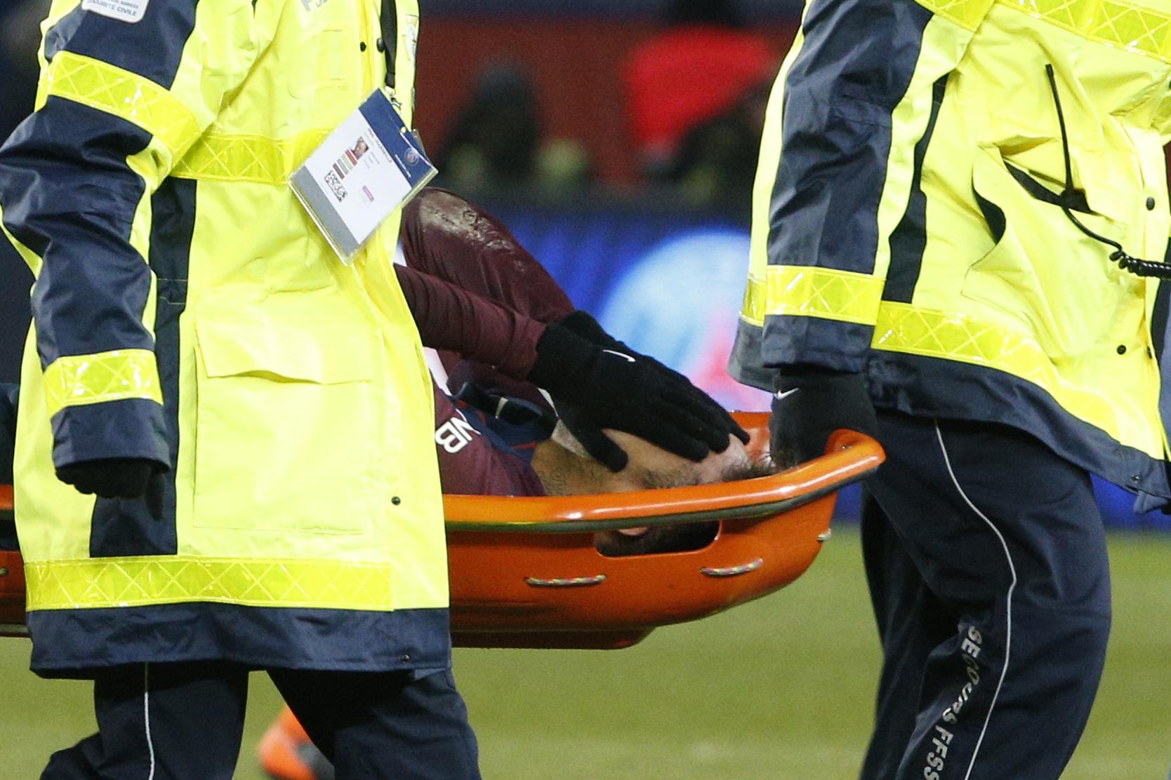 Football - Ligue 1 - Neymar blessé, Emery est «optimiste» et «le voit jouer contre Madrid»
