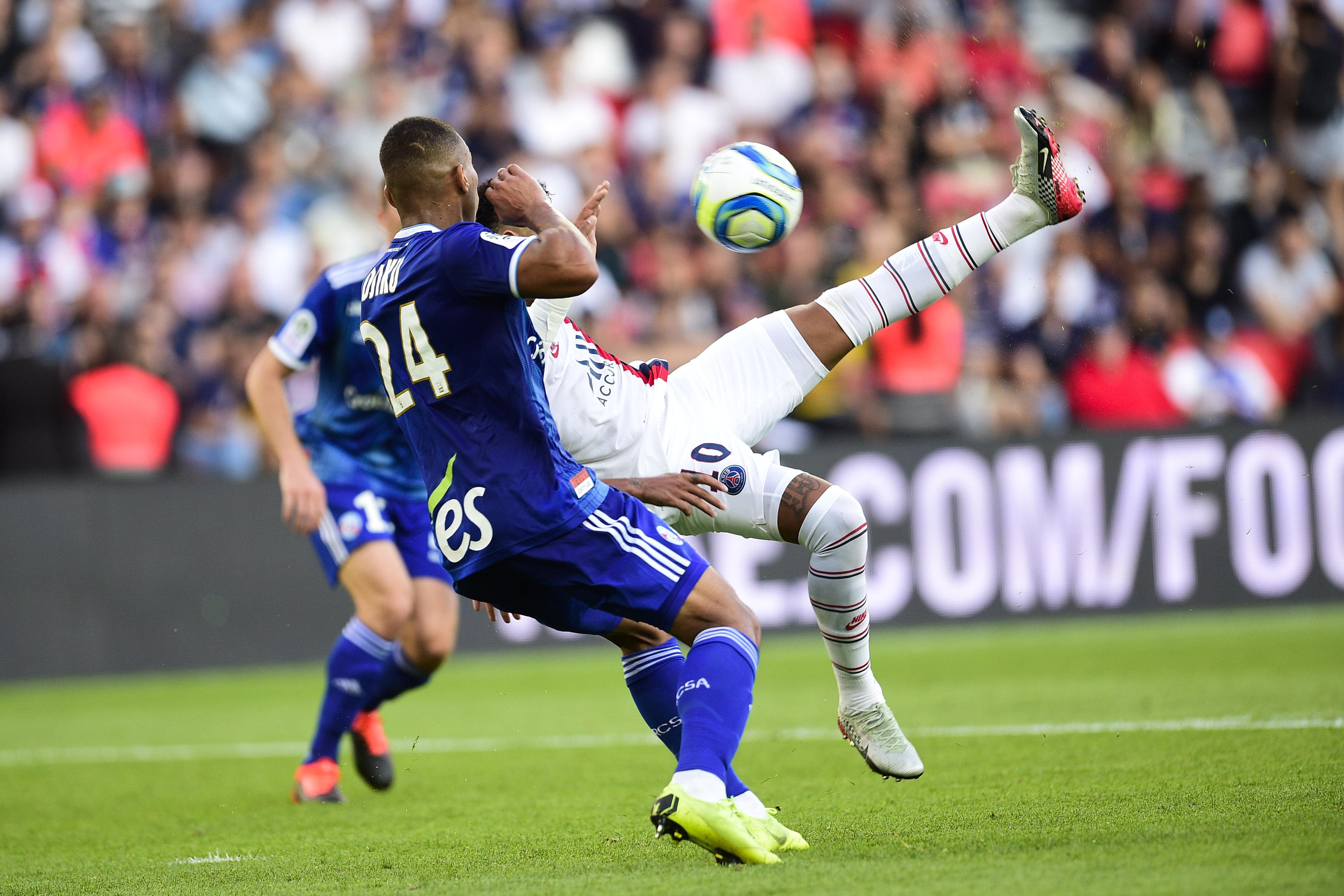 Football - Ligue 1 - Neymar stratosphérique ... Le but qu'il ne fallait pas rater ce week-end